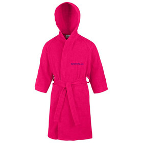 speedo Microterry Bathrobe Kids rasperry fill